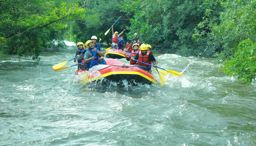 Tejaswini River Rafting
