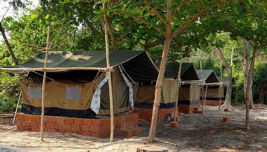 Dharmadam Beach Camp