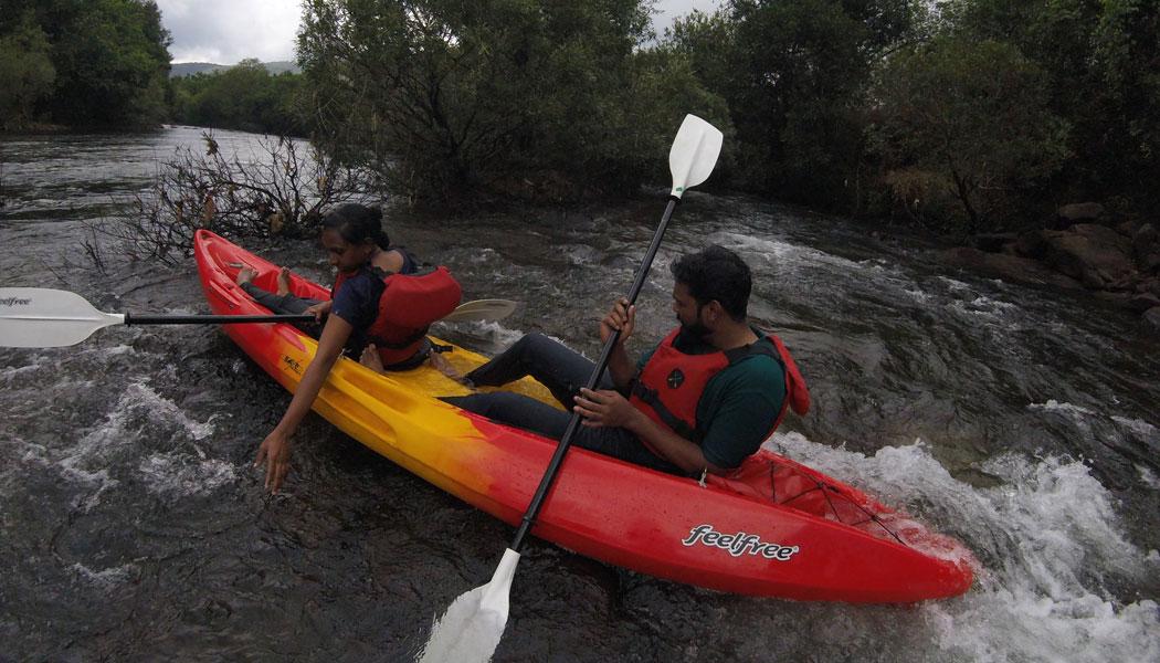 Tejaswini Kayaking Trip