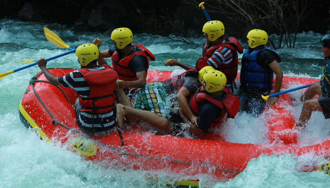 Heavenly Bliss- Rafting